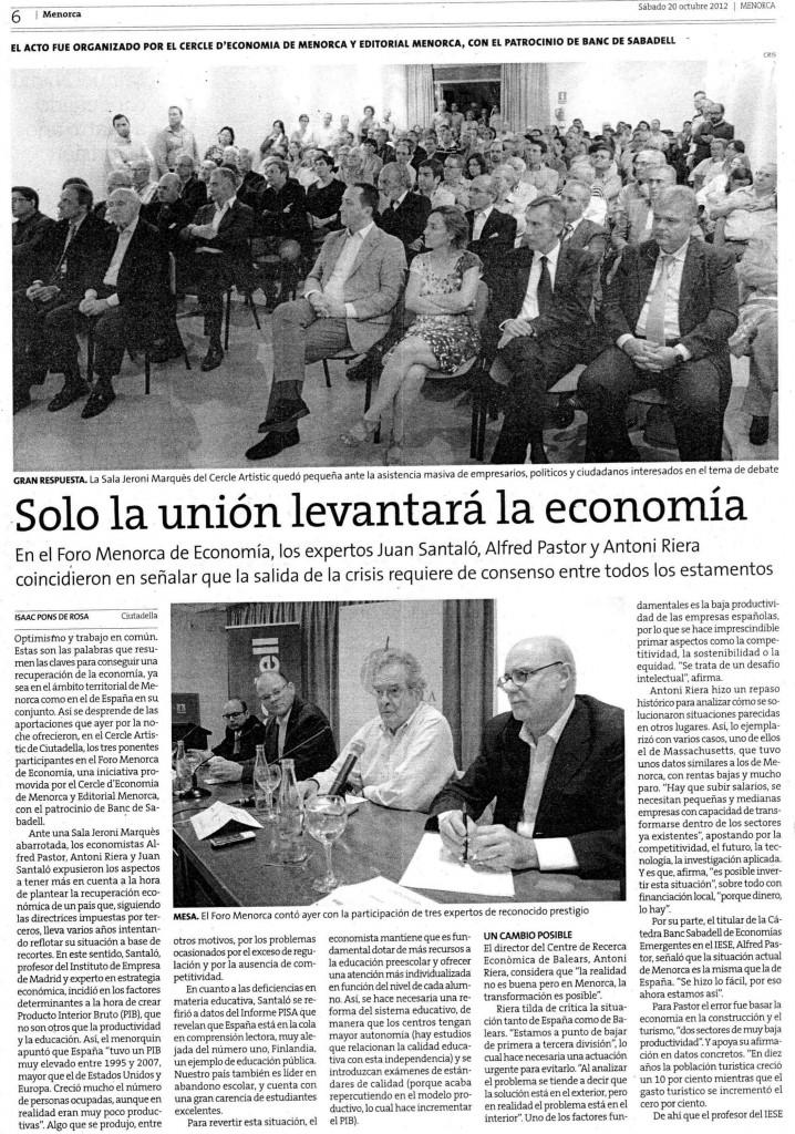 FORO ECONOMIA MENORCA 19_10_2012 2