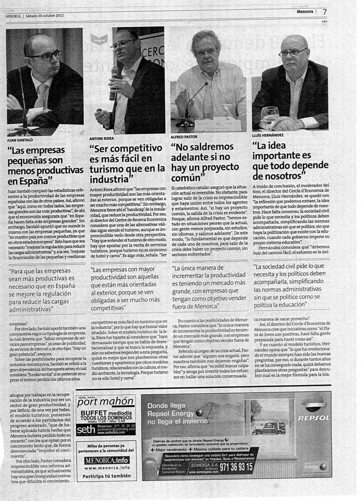FORO ECONOMIA MENORCA 19_10_2012 1
