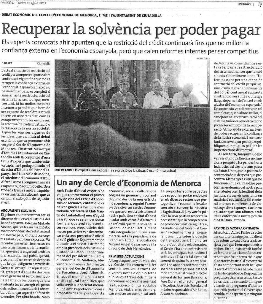 Reportatge D Menorca (23082012)