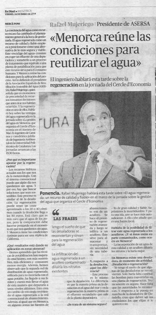 Entrevista a Rafael Mujeriego
